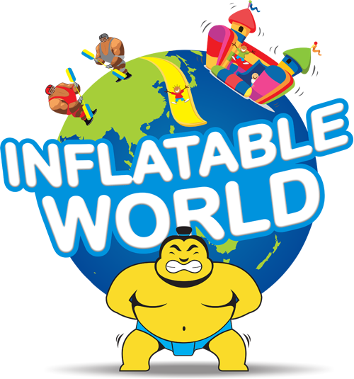 Inflatable World Oakleigh Logo